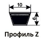 Ремни клиновые Z(0) ZX