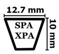 Ремни клиновые узкого сечения SPA XPA