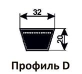 Ремни клиновые D(Г)