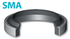 Грязесъемник с металлическим каркасом SMA