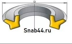 Манжета 1-160-3 (h=7) ГОСТ 6678-72