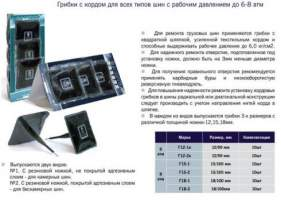 Грибок Rossvik Г-15/2 15*100мм   /10