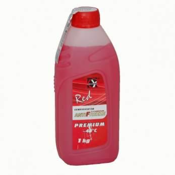 Антифриз PREMIUM CERTIFICATED G-12 красный 1 кг