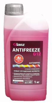 Антифриз G-12 Glanz (красный) 1кг
